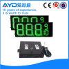 Hidly el panel sensible del precio de la gasolina del verde LED de 12 pulgadas