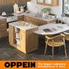 Keukenkasten van de Korrel van de Stijl van Oppein de Amerikaanse Klassieke Houten (OP16-HPL07)