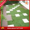 景色のホーム庭の装飾のための連結の擬似草の芝生のマット