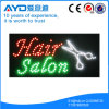 Retângulo de Hidly o sinal do diodo emissor de luz do salão de beleza do cabelo de América
