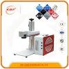 Máquina de grabado portable ampliamente utilizada del laser de la fibra 20W y 30W y 50W del metal y del plástico