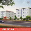 China prefabricó la casa de acero ligera de lujo del chalet como hogar modular