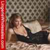 Ropa interior atractiva de la ropa de noche del V-Cuello de los colores de las mujeres dos