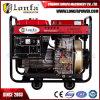 groupe électrogène diesel ouvert du début 7.5kVA principal portatif avec la batterie