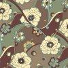 Tessuto chiffon di seta di stampa di Digitahi di nuovo disegno per il vestito (SZ-0024)