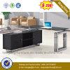 Het gemengde Uitvoerende Bureau van de Melamine van de Desktop van het Bureau van de Kleur Vlotte (NS-GD030)