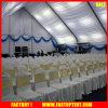 Украшенная роскошью деятельность при партии людей шатров 300 сени случая изогнутой формы напольная