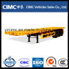 Del cargo Cimc 60ton acoplado plano semi
