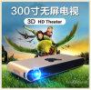 Bewegliche Mini-MikrolED Projector Ohne Bildschirm mit Android 4.4 OS für Heimkino 3D (MP2016)