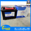 DIN 55mf estándar de mantenimiento libre de la batería de coche de batería de coches europeos de copia de seguridad