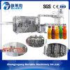 Máquina de rellenar completamente automática confiable del zumo de fruta de la botella de la eficacia alta de Zhangjiagang pequeña