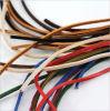 Cuerda de cuero colorida del cordón del OEM para el regalo de la promoción