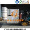 Papel de tabuleiro duplex traseiro cinza de alta qualidade em folha / rolo