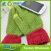 Guantes del telar jacquar de la cachemira, otoño de la manera y guantes de la pantalla táctil del invierno