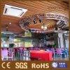 Panneaux de plafond en bois matériels de plafond d'intérieur de panneau de PVC