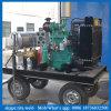 Producto de limpieza de discos de alta presión industrial del arma de agua del producto de limpieza de discos del jet de agua del motor diesel