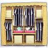 현대 침실 가구 저장에 간단한 직물 옷장