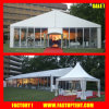 Barraca do partido para a cerimónia de casamento luxuosa com o assoalho vermelho em Guangzhou