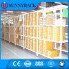 Estantería de poca potencia del almacén ISO9001 del almacenaje aprobado del metal