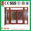 Puerta deslizante de cristal de aluminio esmaltada impacto estándar del huracán As2047