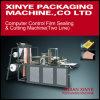 Lacre auto de la película de la fábrica y cortadora/la bolsa de plástico que hace la máquina