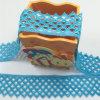 Cordón común Terylene del bordado de la anchura de la dimensión de una variable los 5cm del triángulo de Wolesales de la alta calidad/cordón del poliester para la ropa y las cortinas