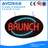 Muestra de interior oval del brunch LED de Hidly