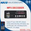 316L USB / TF Audio Reproductor de MP3 Grabación Circiut Decoder Junta