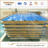 Panneaux sandwich de laines de roche d'isolation de matériaux ignifuges de Wiskind