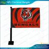Drapeau de fenêtre de voiture de NFL Cincinnati Bengals (NF08F06040)