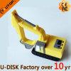 Movimentação do flash do USB da máquina escavadora do PVC 3D para a promoção (YT-Máquina escavadora)