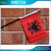Bandeiras da mão de Albânia para o evento de esportes (M-NF10F02021)