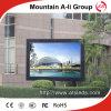 Tela ao ar livre impermeável autorizada do vídeo do diodo emissor de luz da cor P6 cheia