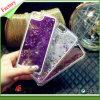 Cubierta del teléfono celular de la caja del teléfono móvil con los granos cristalinos y el brillo