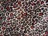 Flanelle de sergé de coton imprimée par léopard (UCP16217)