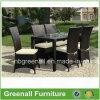 余暇のテラスの屋外の藤の庭の家具のチェアーテーブルセット