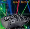 Láser RGB DJ 8 Jefes principal móvil de la araña Rayo de luz