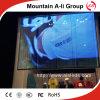 Diodo emissor de luz ao ar livre Video Screen de Transparent Grid para Shop Advertizing Show