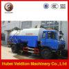 De Zuiging van de Riolering van Dongfeng 10m3 en Schoonmakende Vrachtwagen