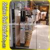 Металла нержавеющей стали Keenhai стеллажи для выставки товаров одежд выполненного на заказ вися