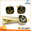 Clip de lazo masónico de encargo del metal del oro del Freemason de la promoción