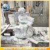 Cherub grigio del granito che intaglia mano perfezionamento