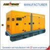 Conjunto de generador eléctrico diesel refrigerado por agua con el pabellón silencioso
