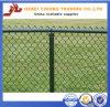 Новый дешевый PVC цены Yb-01 2016 покрыл широко Using загородка звена цепи, стальная загородка