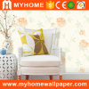 papier de mur profondément gravé en relief de papier peint de décoration de PVC 500g