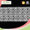 Популярный геометрический шнурок утески вышивки хлопка гипюра