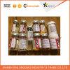Collant transparent personnalisé de bouteille en verre de produits chimiques, étiquette en verre de collant