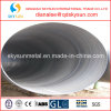 Tubulação de aço espiral soldada preto