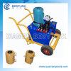 Granit-Stein-Block, der Hilfsmittel-Benzin angetriebenen Wagenheber-Zylinder drückt