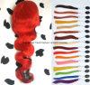 perruques faites sur commande de face de lacet d'onde de corps du cheveu 22 de #Rose/#Red 7A Remy